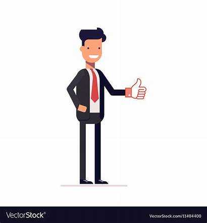 Manager Businessman Clipart Showing