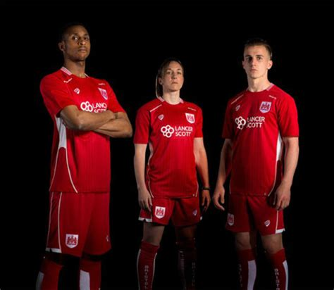Bristol City FC Bristol Sport 16 17 Home Kit