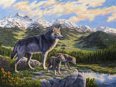 Passing It On Painting By Crista Forest