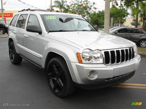 cherokee jeep 2005 bright silver metallic 2005 jeep grand cherokee limited
