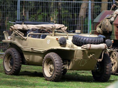 volkswagen schwimmwagen 1944 vw schwimmwagen type 166 amphibious vehicles