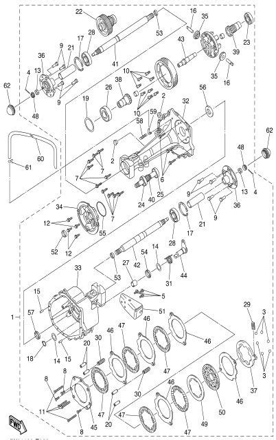 Ydre Drive Electric Transaxle Brake