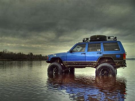 jeep xj lifted lifted blue xj jeep i want pinterest jeep club