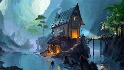 Fantasy Landscape Peace Inner Quotes Key Landscapes