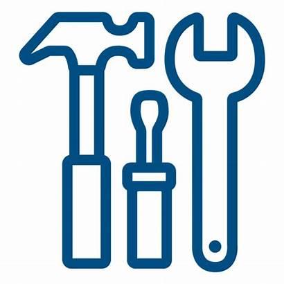 Tools Construction Icon Stroke Transparent Svg Vector