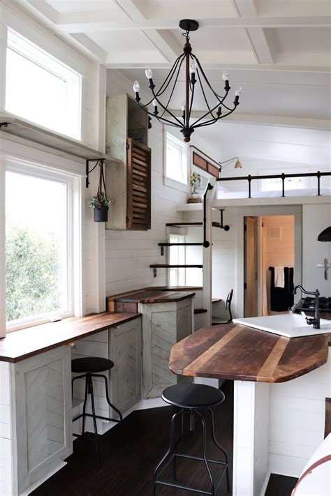interiors homes tiny house town tiny getaway house by handcrafted movement