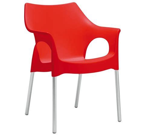 sedia scab sedia poltroncina in plastica impilabile ola di scab
