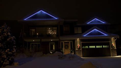 permanent led christmas lights calgary christmas lighting permanent accent led lighting