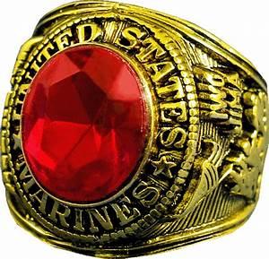 U.S. Marine Corps Ring - Style No. 20  Marine