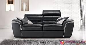 photos canape 2 places relaxation electrique cuir With canapé 2 places relaxation électrique cuir