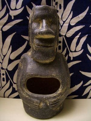 Tiki Chiminea For Sale by Mr Rapa Nui Mini Chiminea From The Collection Of