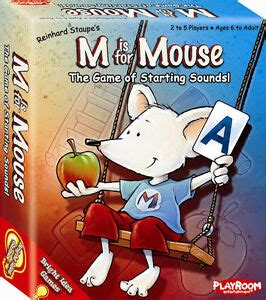 Where they do not, this will be noted. M IS FOR MOUSE - THE GAME OF STARTING SOUNDS PHONICS MATCHING CARD GAME PLAYROOM 803004701009 | eBay