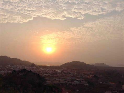 sunrise usuma lake ushafa village abuja nigeria jujufilms