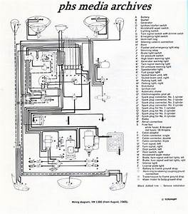 Tech Files Series  1965  1968 Volkswagen Type 1  U0026 Convertible Chassis Wiring Diagrams