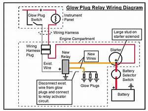 Glow Plug Circuit Diagram