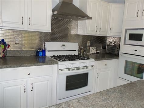 stainless steel kitchen backsplashes stainless steel mosaic tile 1x2 subway tile outlet
