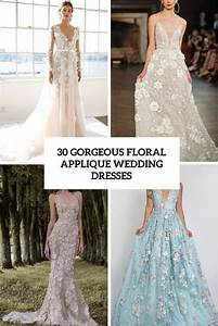 floral applique wedding dress gown and dress gallery With floral applique wedding dress