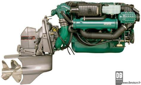 moteur volvo penta kadp avec transmission dp ou dpx