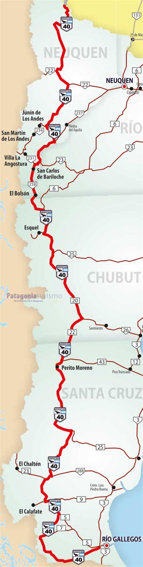 Región Centro De Argentina Ruta 40 En La Patagonia Argentina Turismo Circuito