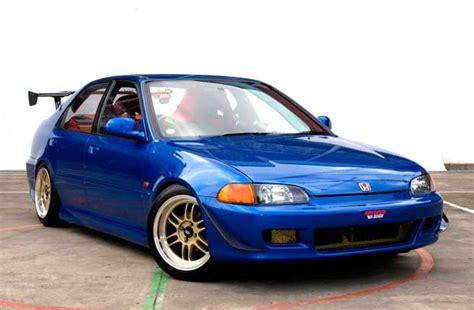 modifikasi honda civic genio  biru modif mobil