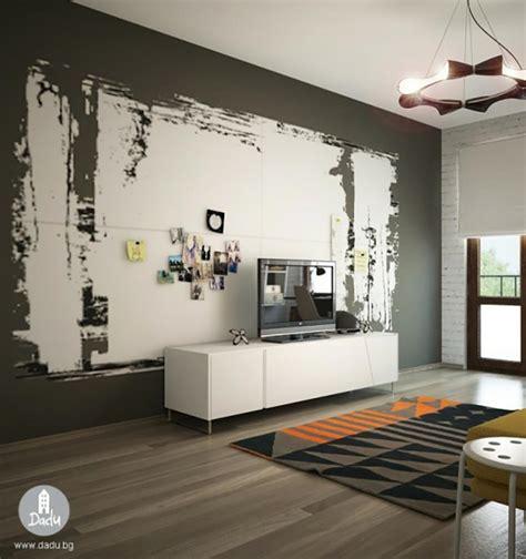 decoration de peinture pour chambre chambre ado au design déco sympa et original design feria