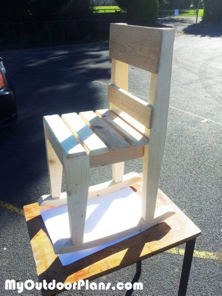diy kids rocking chair plans myoutdoorplans