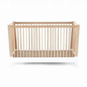 Lit Bebe Blanc : lit b b horizon blanc nobodinoz pour chambre enfant les enfants du design ~ Teatrodelosmanantiales.com Idées de Décoration