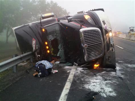 Motorist On Cell Phone Blamed For Nasty Semi Truck Crash