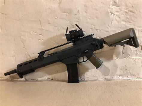 can't deny it, Germany can produce some badass looking guns : airsoft