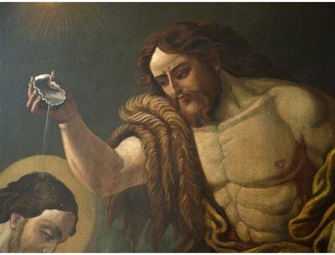 great hst table baptism jesus christ john  baptist