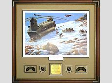 Gallery – Custom Military Shadow Box Examples Framed Guidons