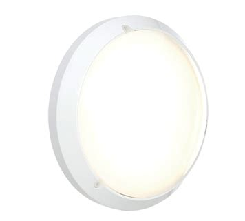 endon luella ip54 led standard round outdoor wall light
