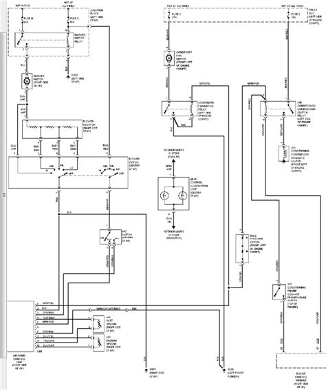 1996 montero blower motor wiring diagram 1994 mitsubishi