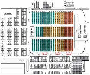 Mission Ballroom Seating Chart Floor Layouts Surf Ballroom