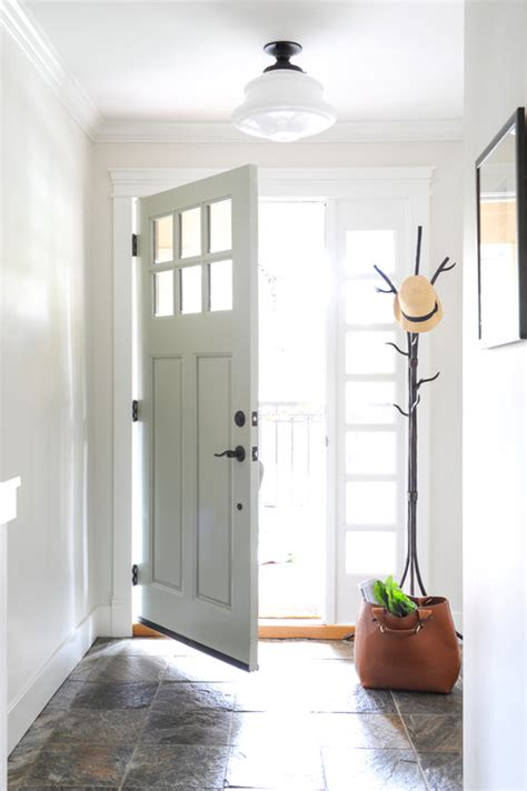 Small Entryway Lighting Ideas - 8 ways to enhance a small foyer