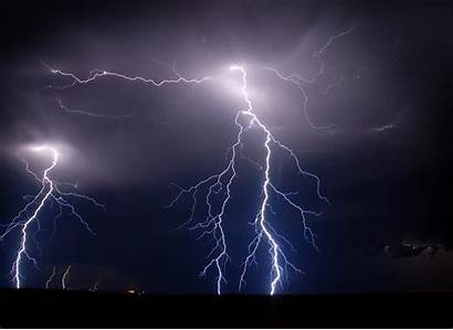 Lightning Lighting Backgrounds Bolt Desktop Lightening Wallpapers