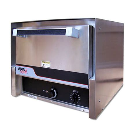 Countertop Baking Oven by Apw 120v Countertop Baking Oven With 2 Ceramic 16 Quot Decks