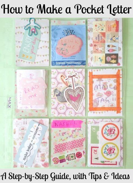 pocket letter scrap booking