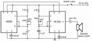 Sound Beeper Circuit Schematic With Explanation