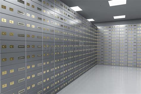 chambre de compensation banque compartiments de coffre fort à l 39 intérieur de chambre