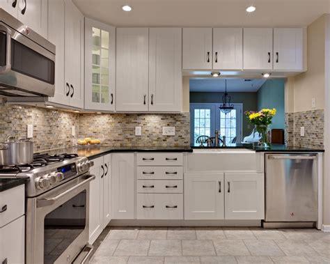 kitchen tile backsplash ideas with white cabinets kitchen backsplash white cabinets rectangle silver kitchen