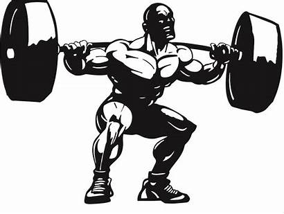 Clipart Lifting Weight Squat Weightlifter Lifter Clipground