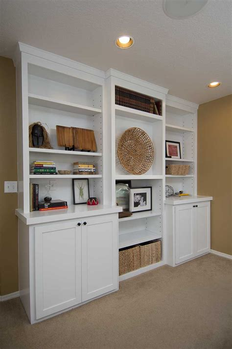 Custom Builtin Cabinets And Woodworking Projects