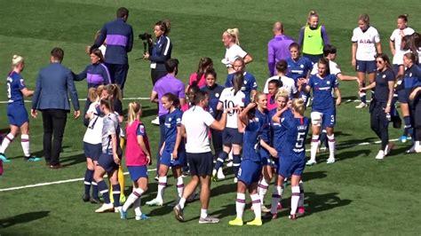 Chelsea Women v. Tottenham Hotspur Women. Closing Scenes ...