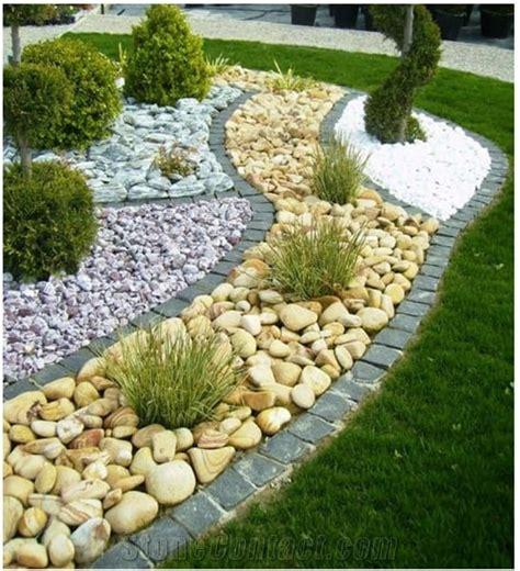 incredible pebble landscapes   enhance