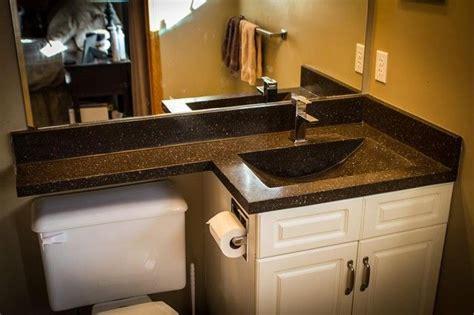 bathroom vanity top extended  toilet dom