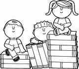Coloring Clip Sitting Clipart Cartoon Para Reading Colouring Children Dibujos Colorear Educational Preschool Bestcoloringpagesforkids Boy Sheets Stack Niños Disney Leyendo sketch template