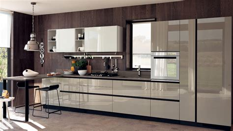 kitchen decor designs liberamente forme essenziali e volumi geometrici 1068