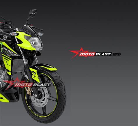 modif striping yamaha new vixion advance black vr46 motoblast