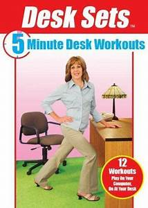 Desk Sets  5 Minute Desk Workouts With Sharyn Pak  New Dvd  Free Shipping   881303000122